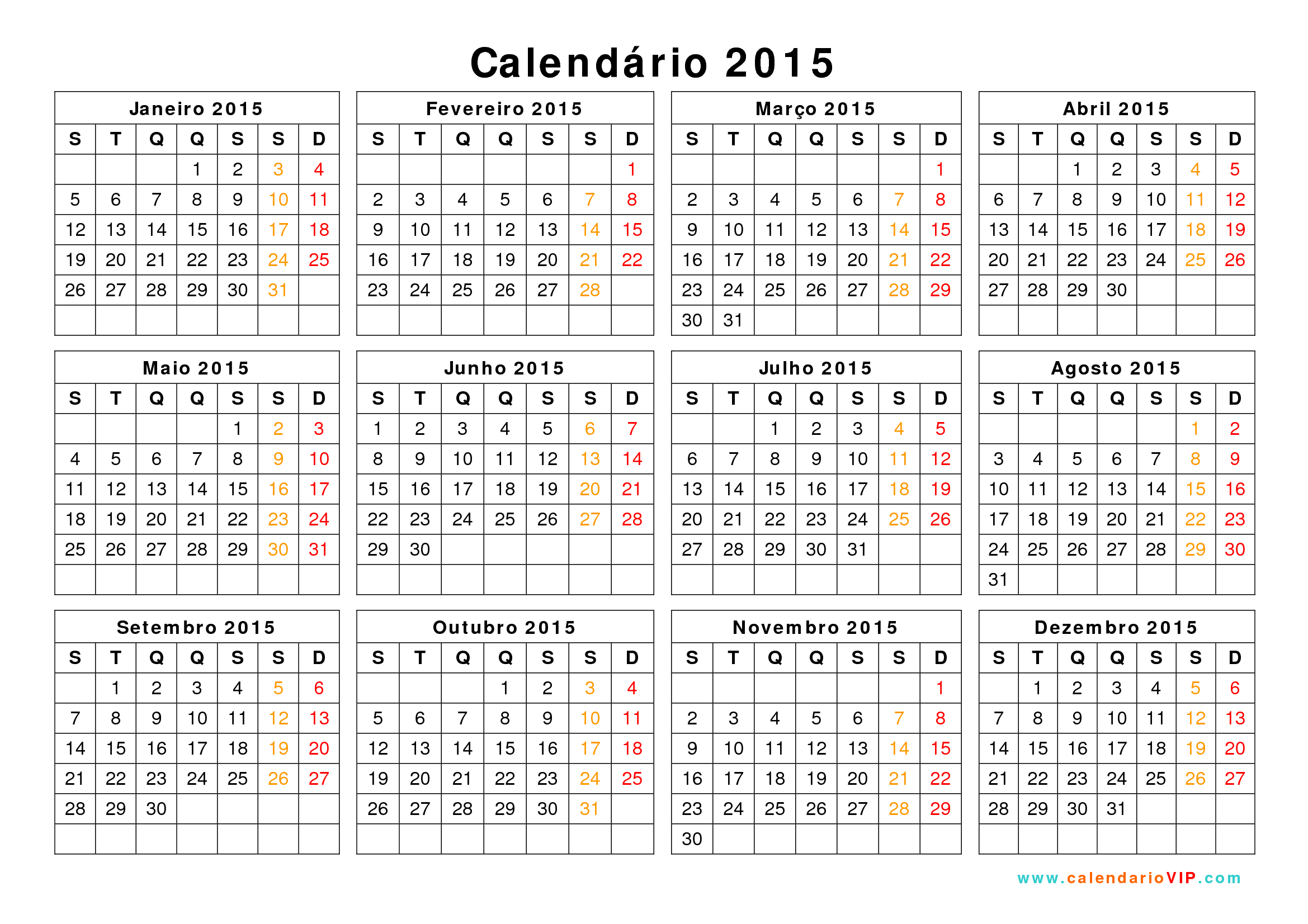 Calendario Febrero 2016 Para Imprimir Related Keywords - Calendario ...